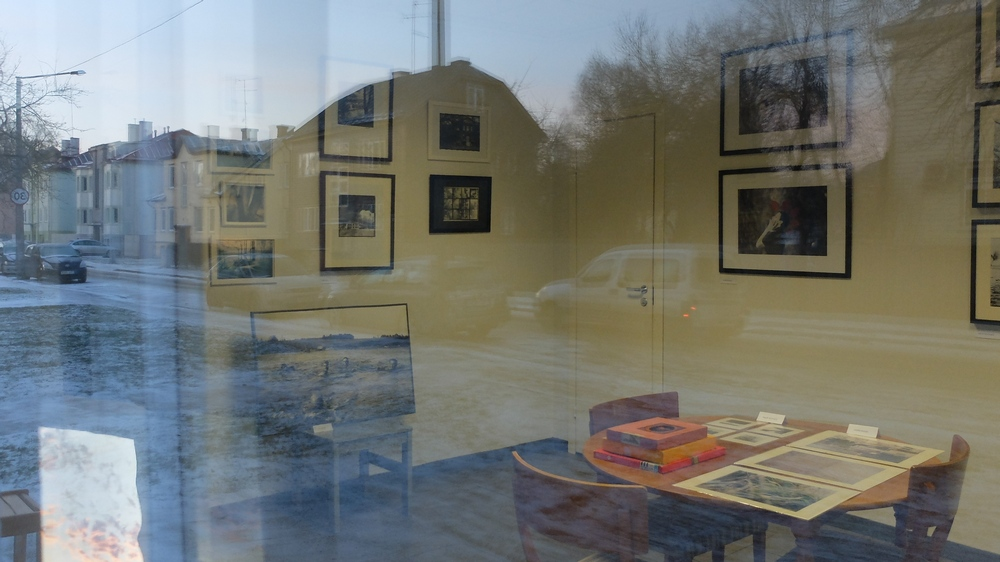 Foto: Kristel Schwede. Näitusmüük galeriis Positiivi 3.-16.12.16