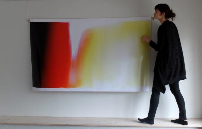 """4.–21.04.17 galeriis Positiiv Sohvi Viigi näitus """"Valgustatud virvendused"""""""