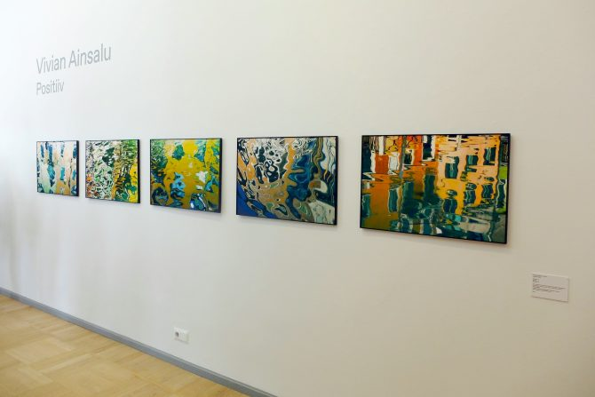"Galerii Positiiv esitleb Vivian Ainsalu seeriat ""Miraaž"" Tallinna Kunstihoone kevadnäitusel 27.04–09.06.2019"